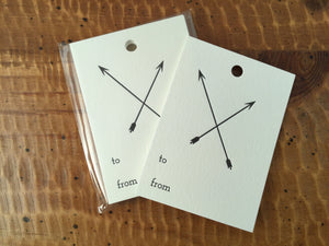 Arrow Gift Tags