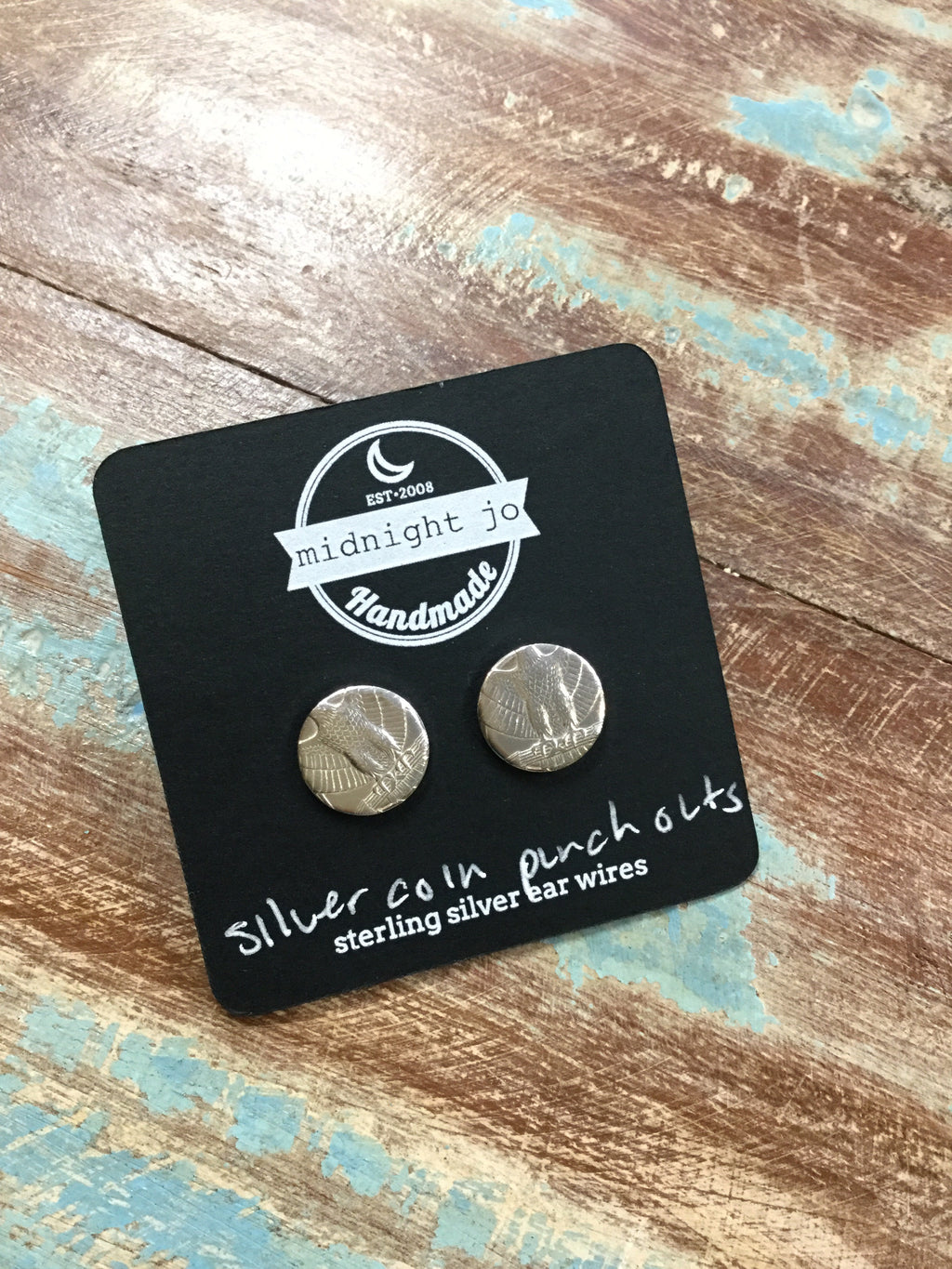 Silver Eagle Coin Earrigns