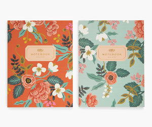 Floral Birch Notebook Covers