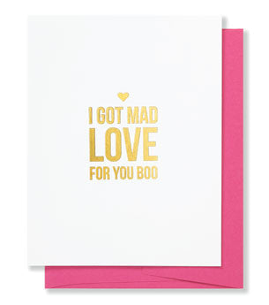 Mad Love Gold Foil Card