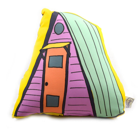 A-Frame House Pillow