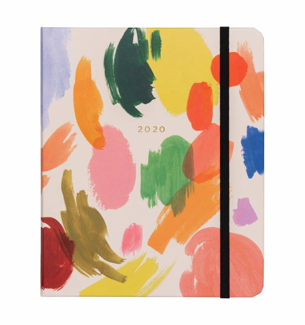 Rifle Paper 2020 Covered Spiral Palette 17 month Planner