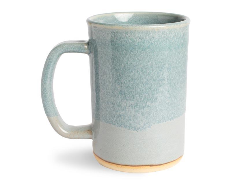 16oz Light Blue Stoneware Mug