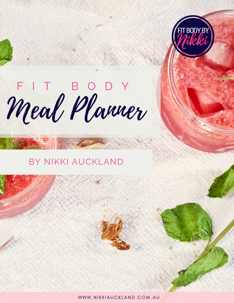 FIT BODY MEAL PLANNER