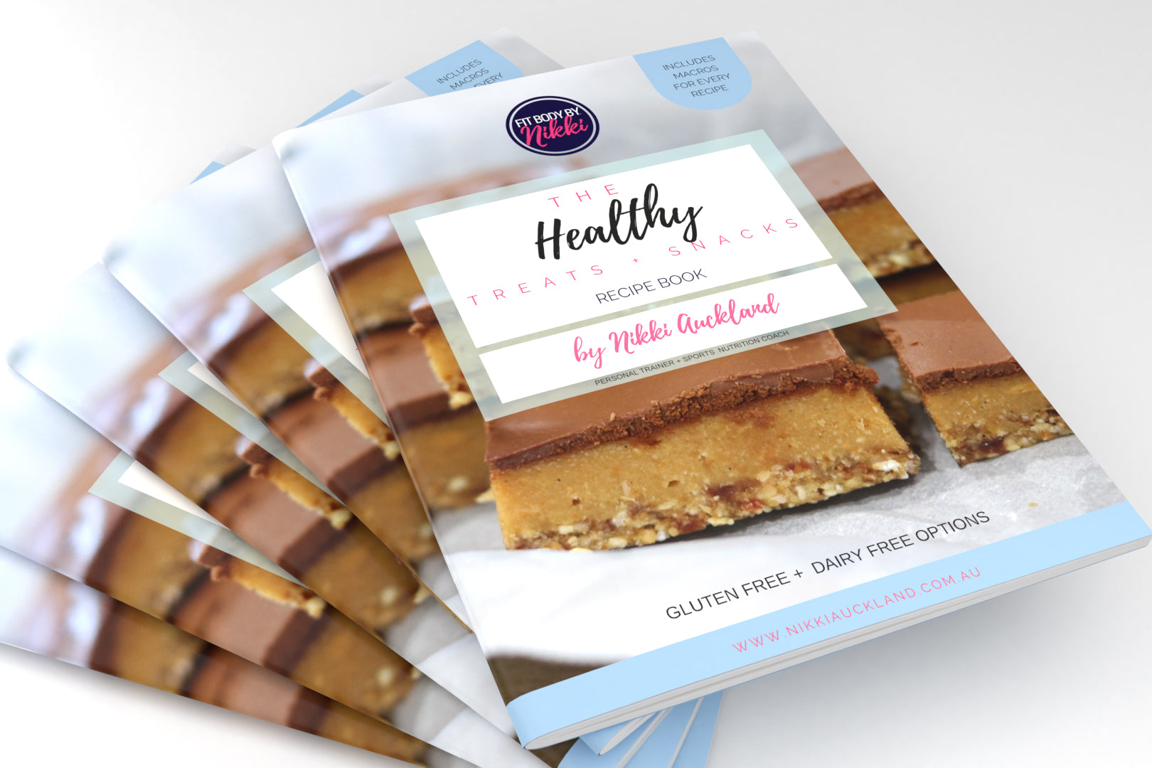 HEALTHY TREATS + SNACKS Recipe eBook