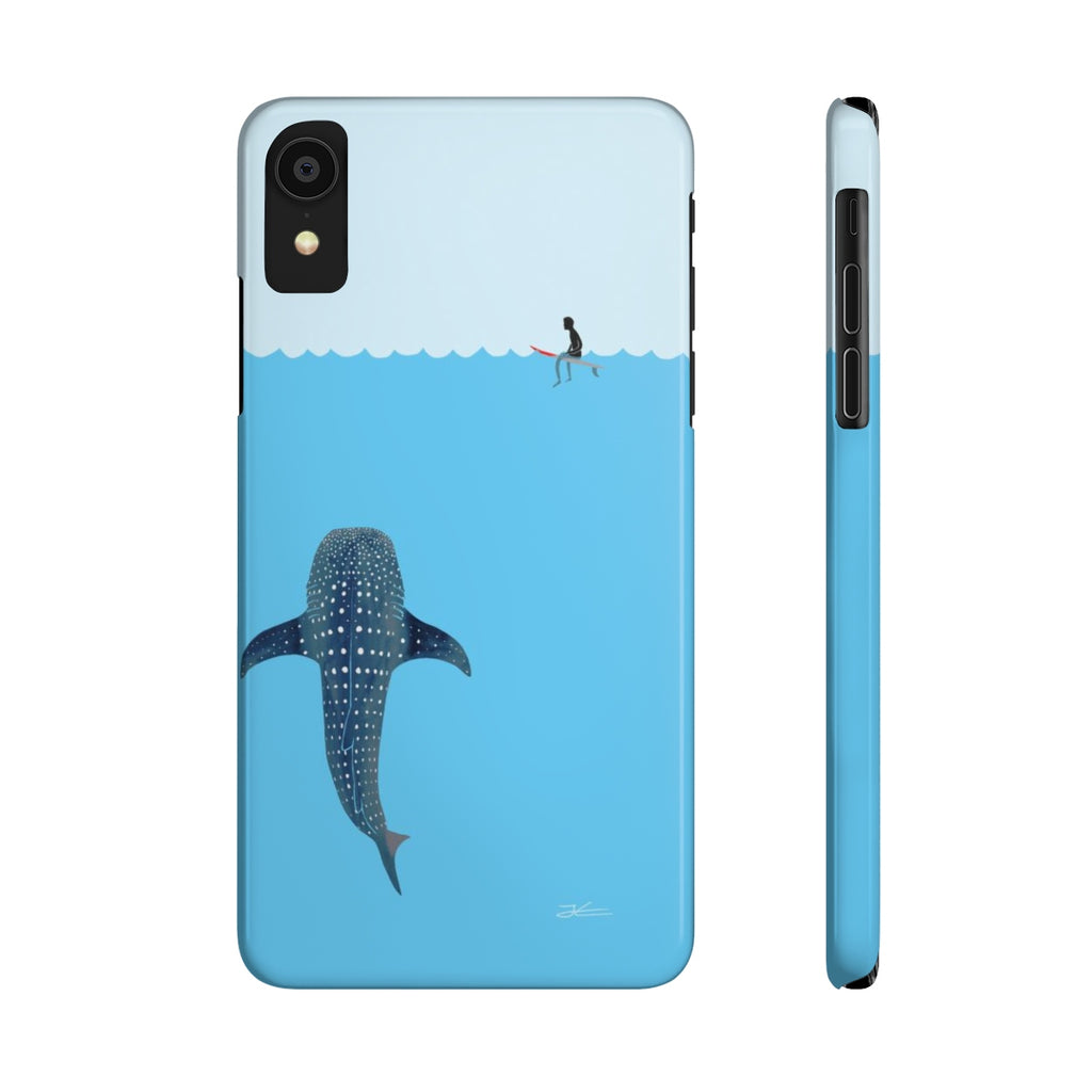 Whale Shark Slim Phone Case