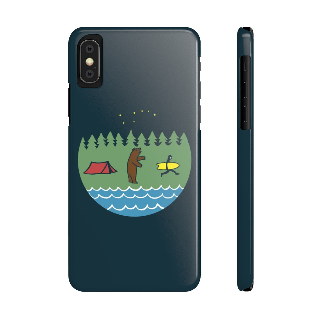 Bear Country Slim Phone Case