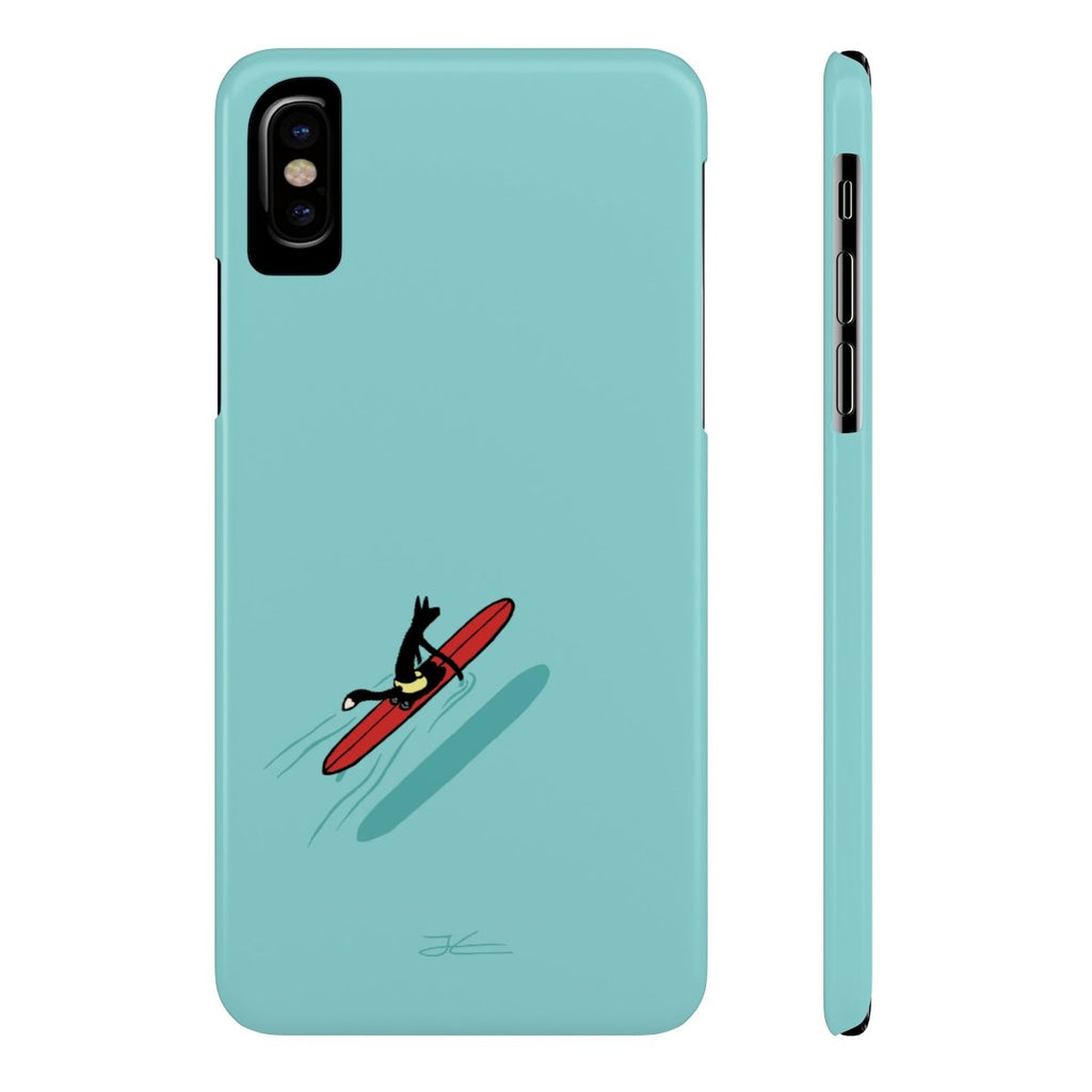 Paddling Out Slim Phone Case