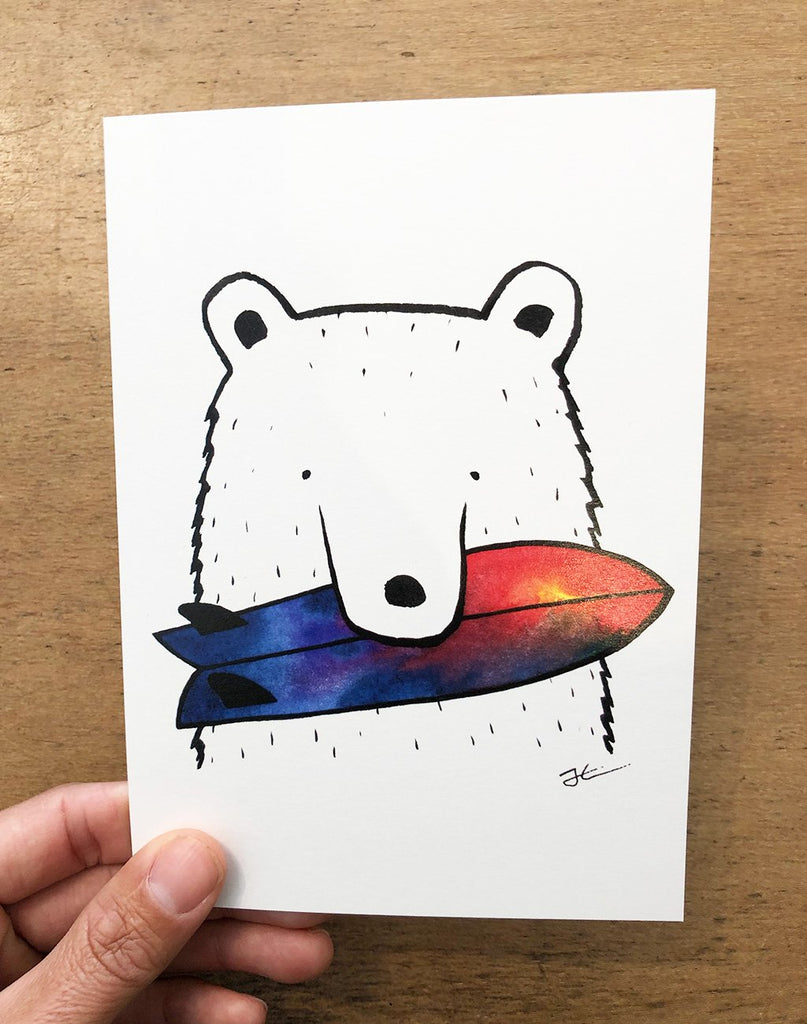 Bear Snack Folded Card Pack