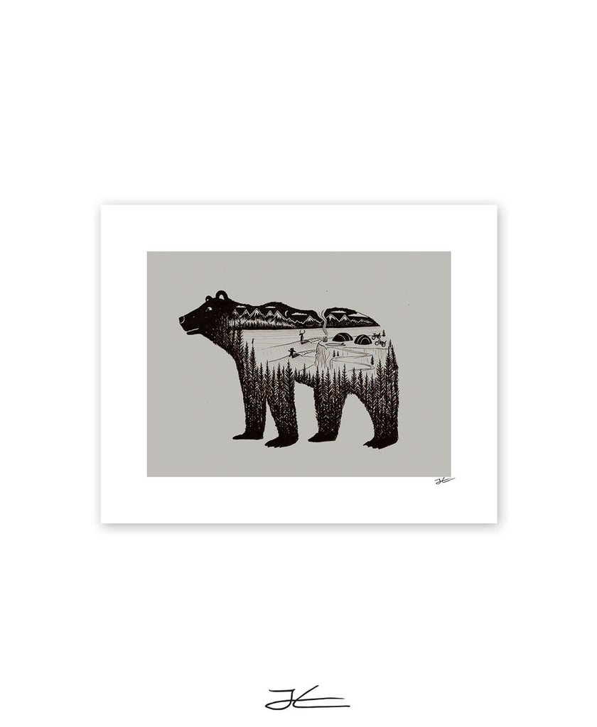 Bear World - Print/ Framed Print