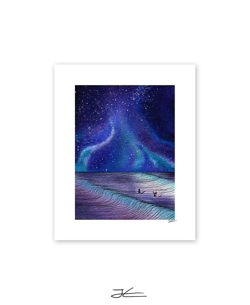 Between Sets - Print/ Framed Print