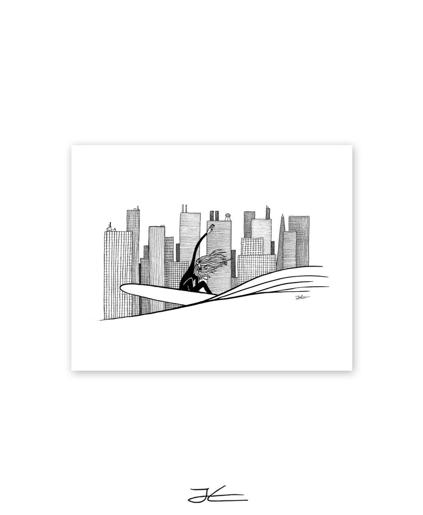 Big City Life - Print/ Framed Print
