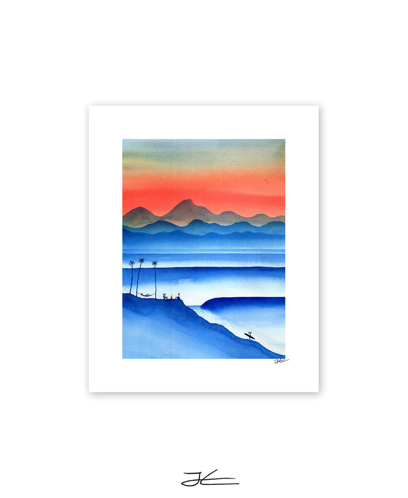 Blue Cover - Print/ Framed Print