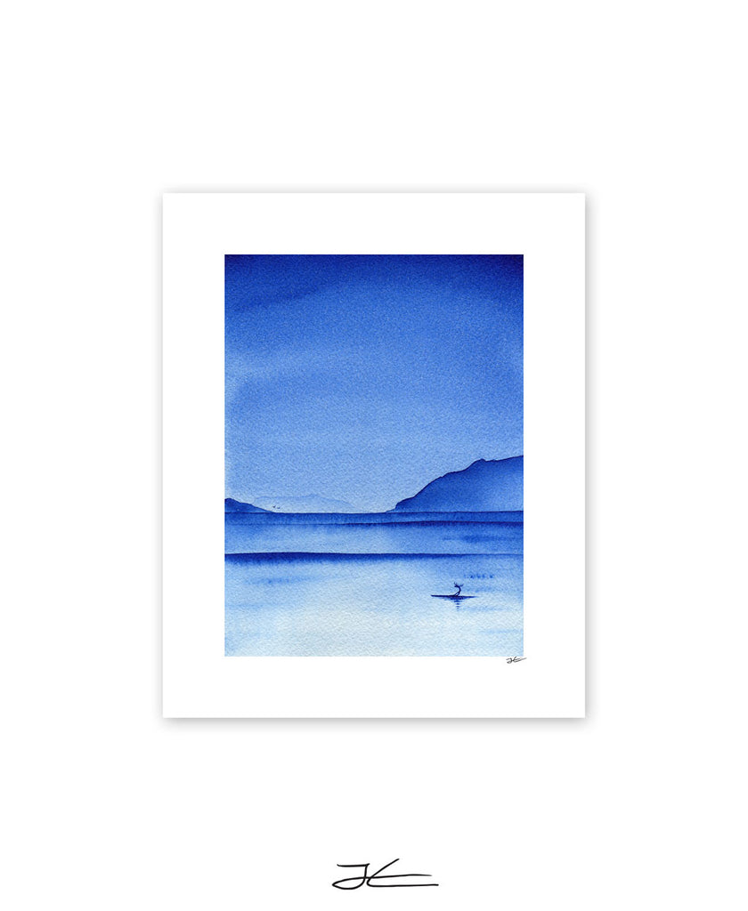 Blue Night - Print/ Framed Print