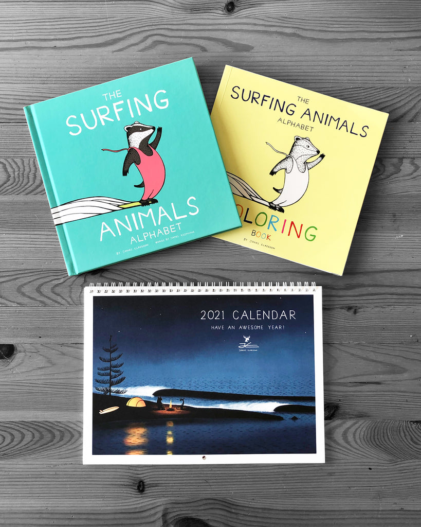 Book/ Coloring Book/ Calendar Bundle
