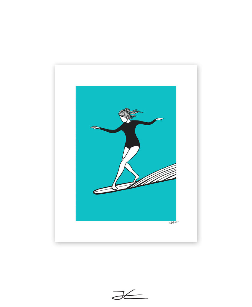 Dancing On Water - Print/ Framed Print