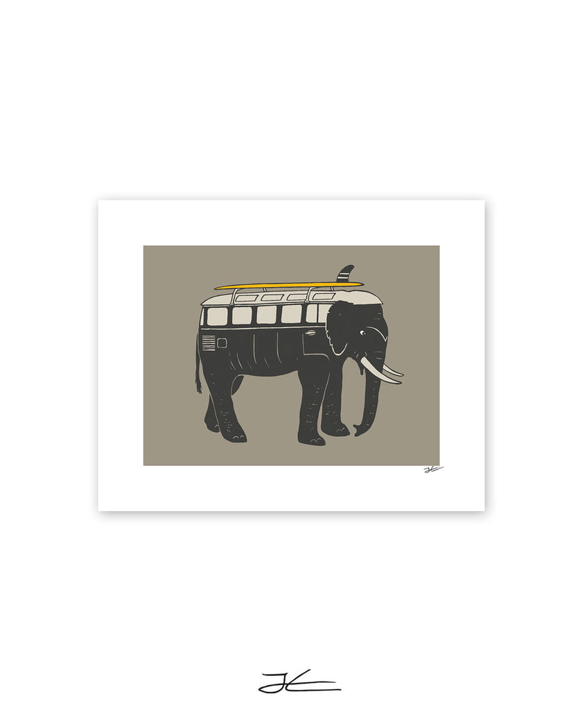 Elephant Mobile - Print/ Framed Print