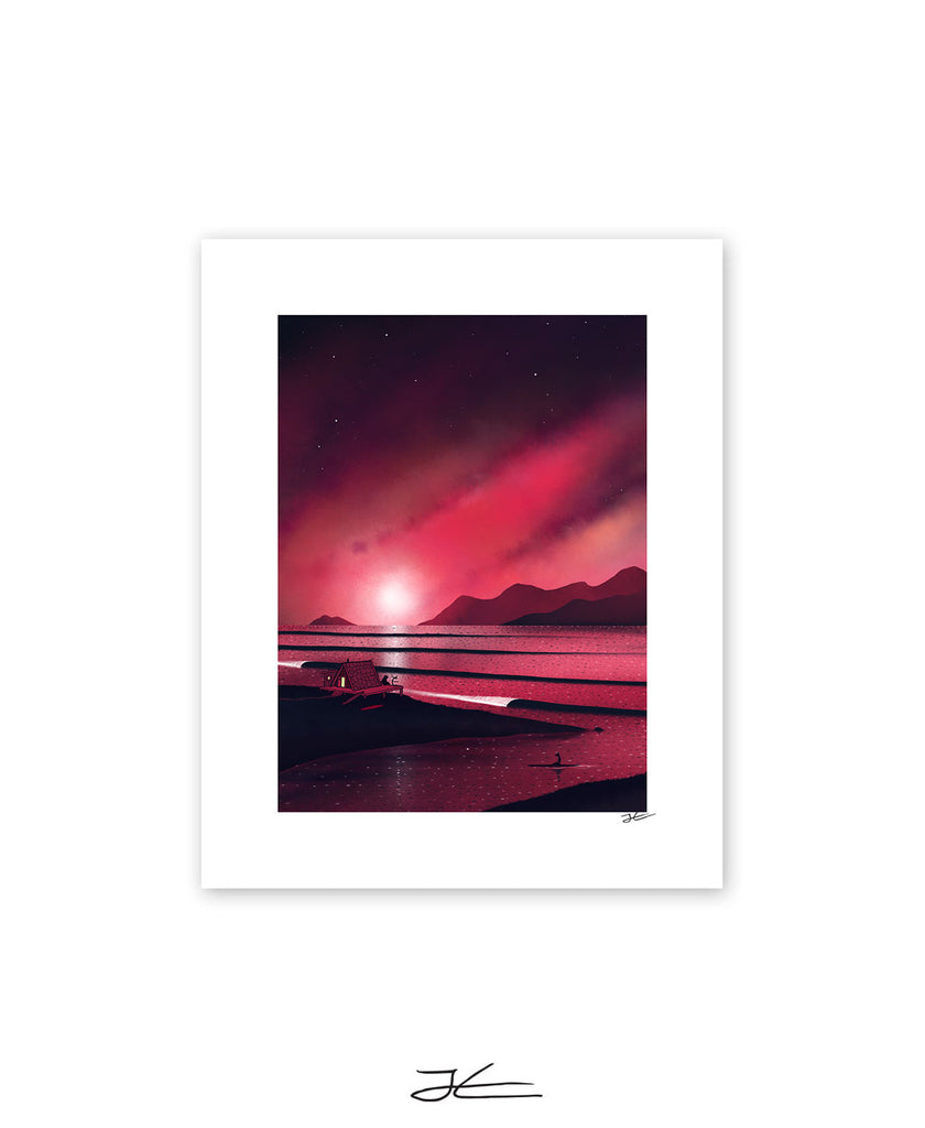 End of a Good Day - Print/ Framed Print
