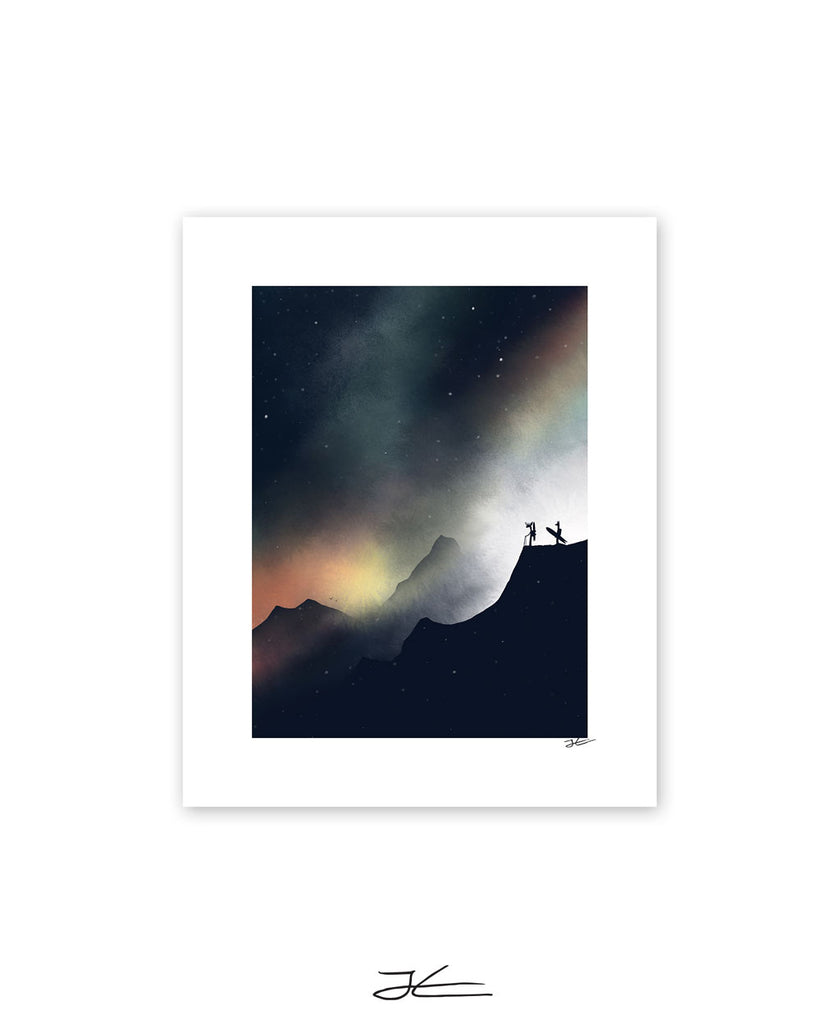 Finding The Line - Print/ Framed Print