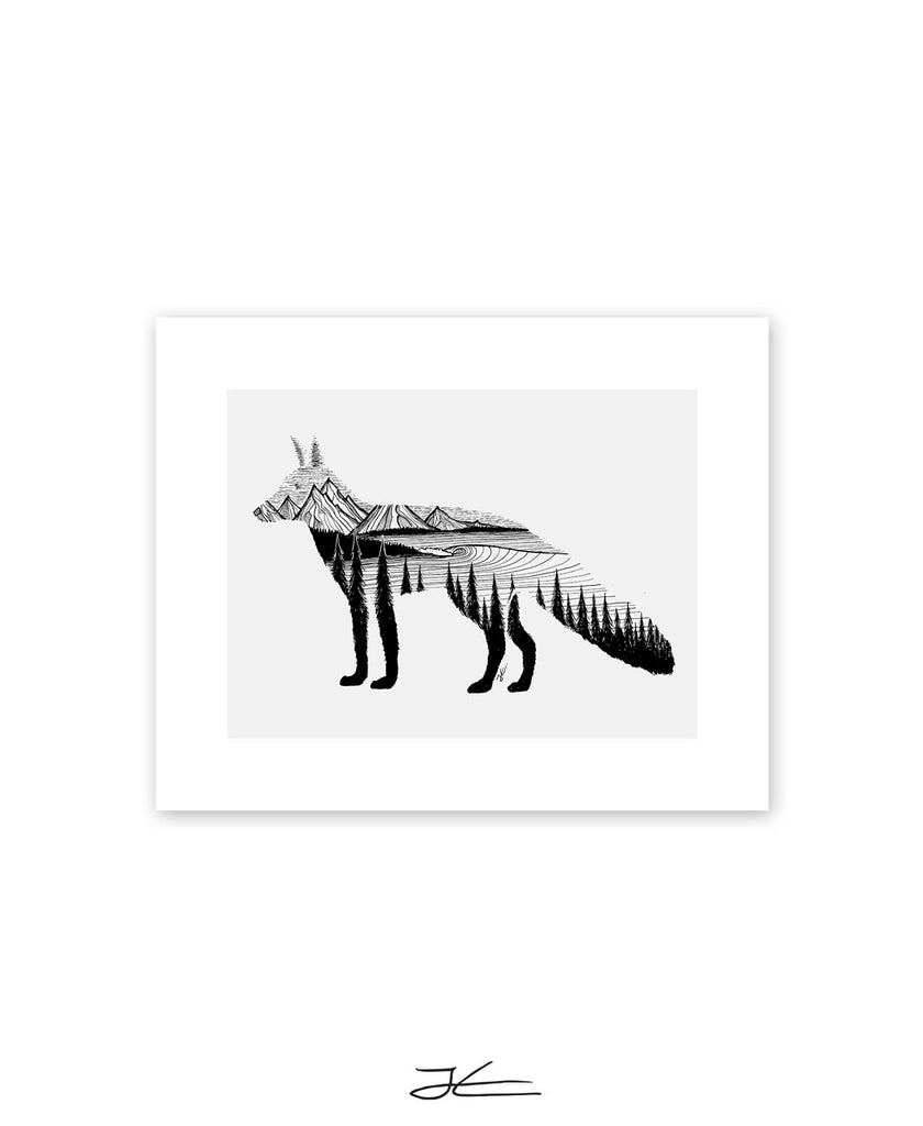 Fox Dreams - Print/ Framed Print