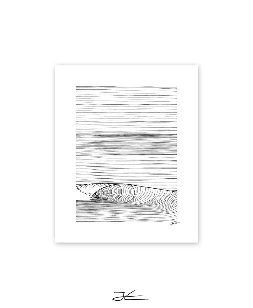 Groundswell Black & White - Print/ Framed Print