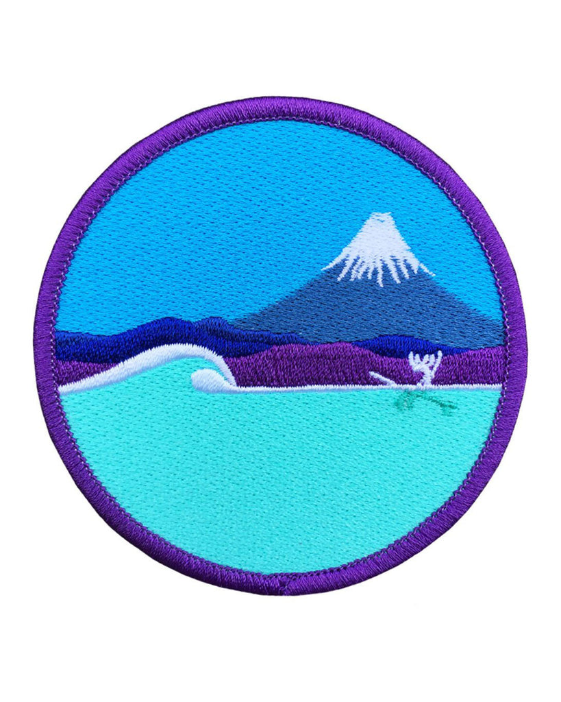 In Japan Embroidered Patch
