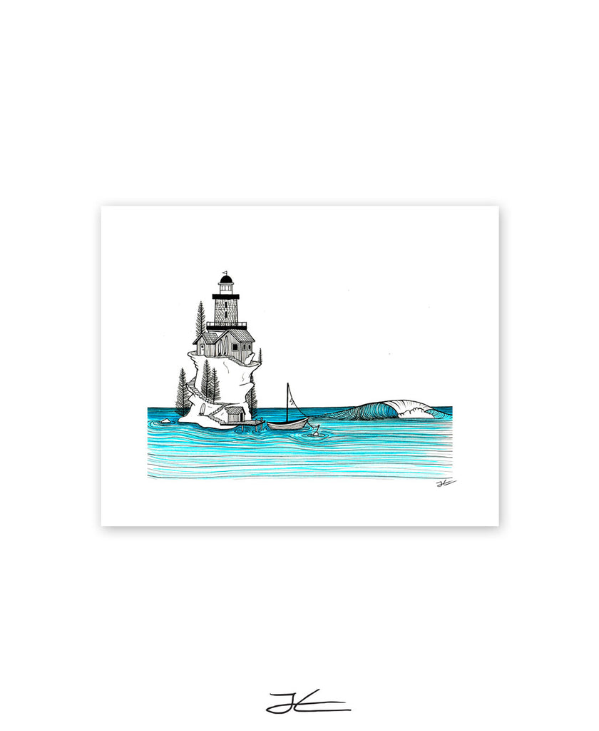 Lighthouse Rights - Print/ Framed Print