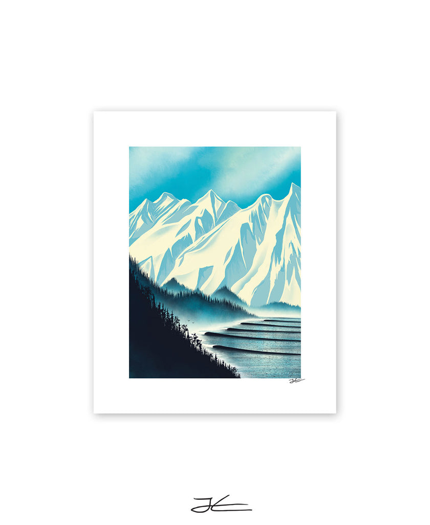 Lining Up - Print/ Framed Print