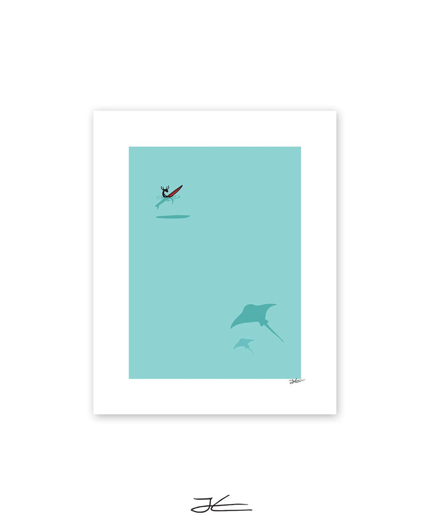 Manta and Moose - Print/ Framed Print