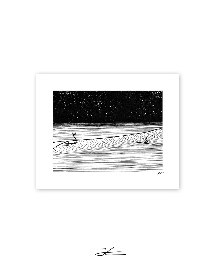 Night Slide  - Print/ Framed Print