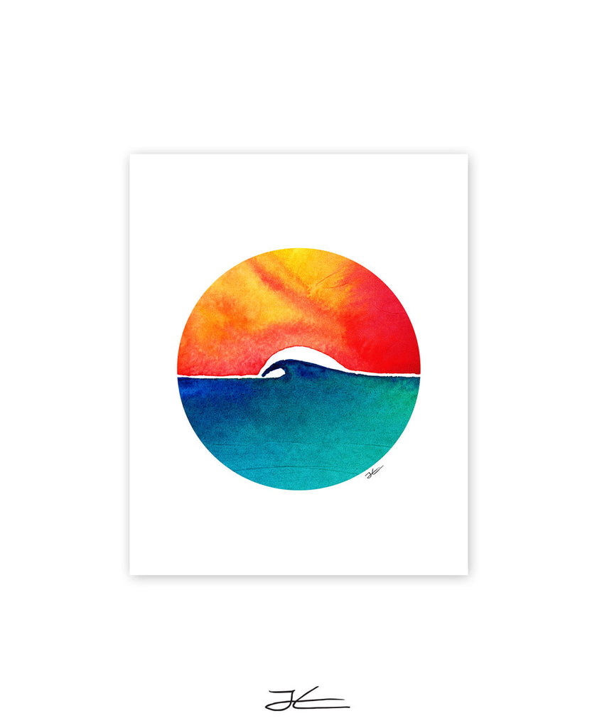 Oceans Day - Print/ Framed Print