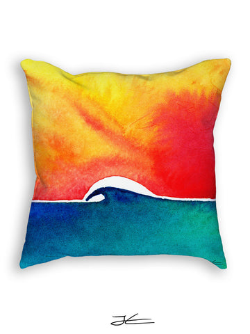 Oceans Day Pillow