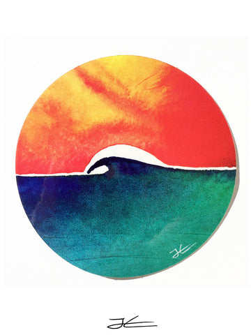 Oceans Day Sticker (4 Stickers)