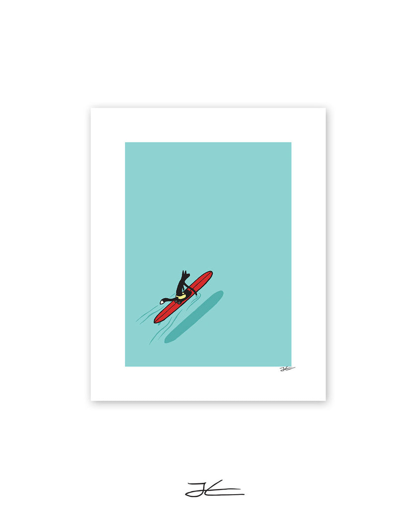 Paddling Out - Print/ Framed Print
