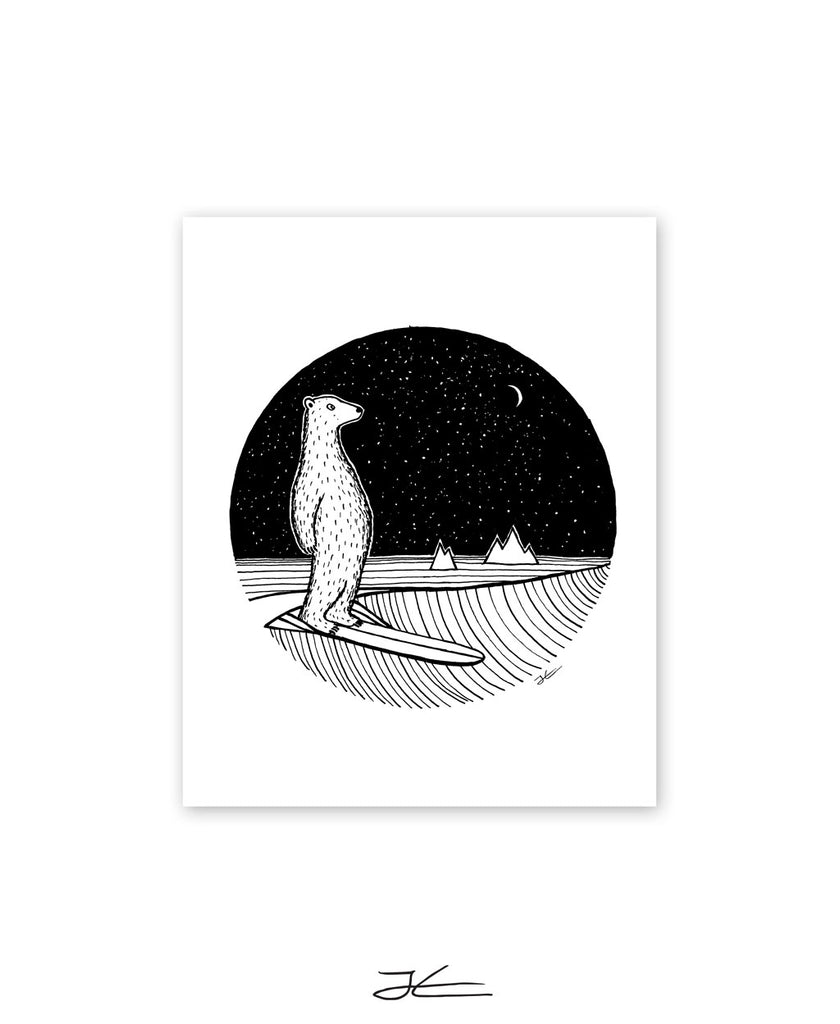 Polar Slide - Print/ Framed Print