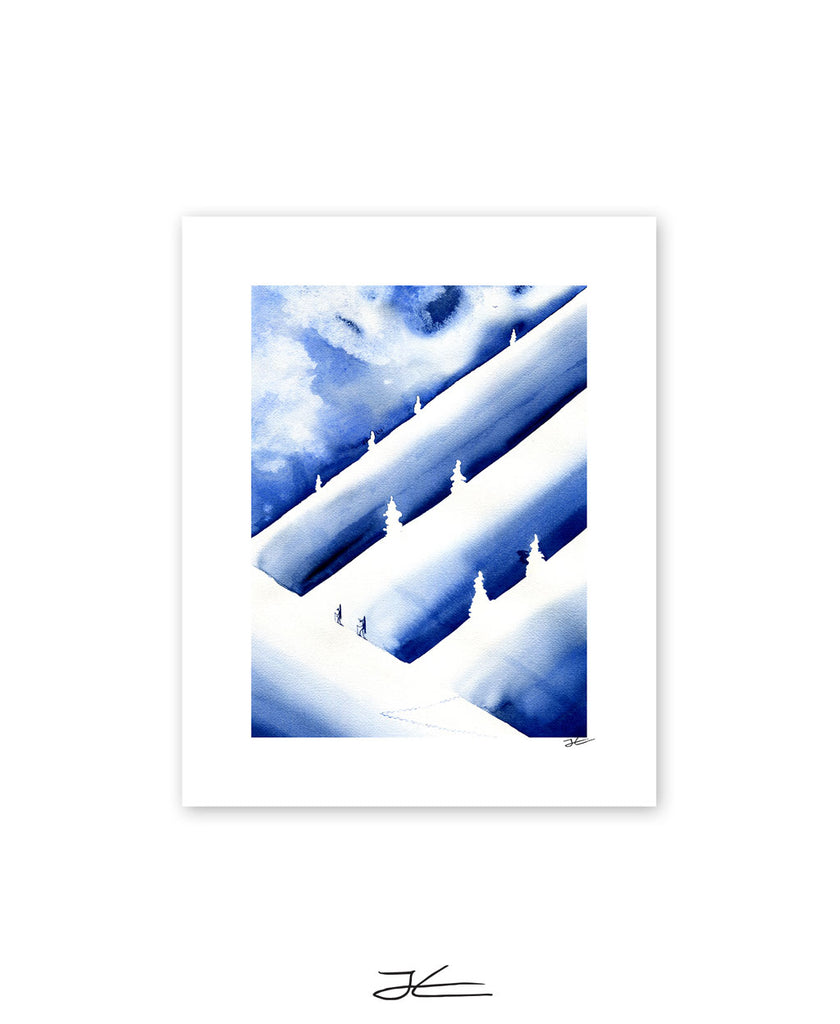Powder Hunters - Print/ Framed Print