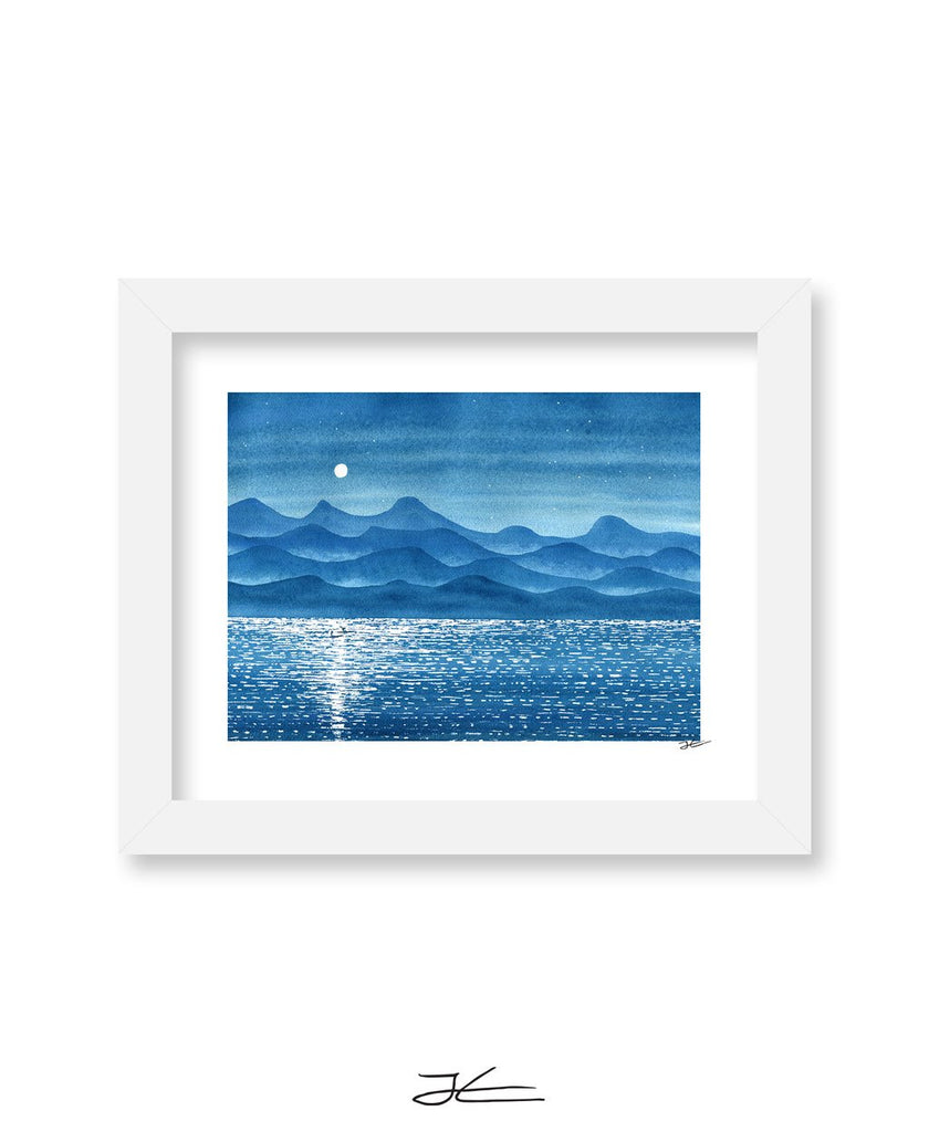 Quiet Night Out - Print/ Framed Print