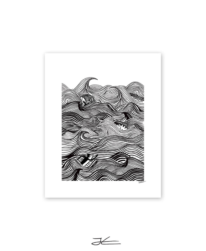 Rough Surf - Print/ Framed Print