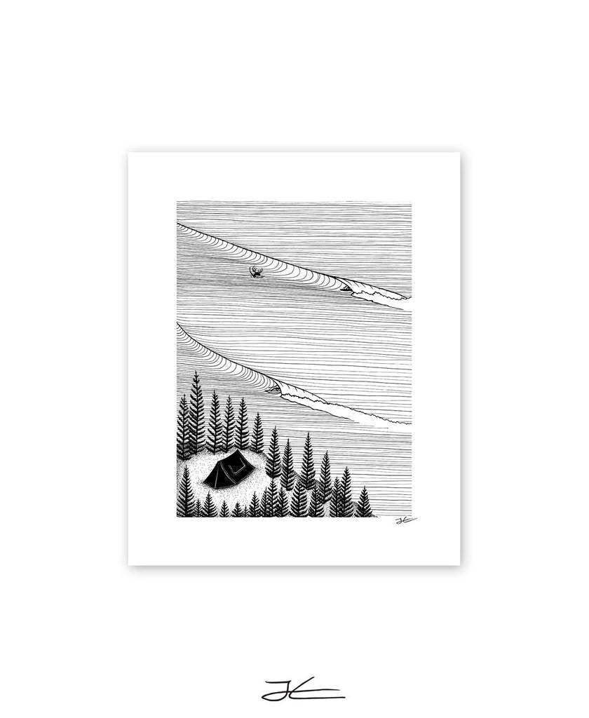 Secret Spot - Print/ Framed Print