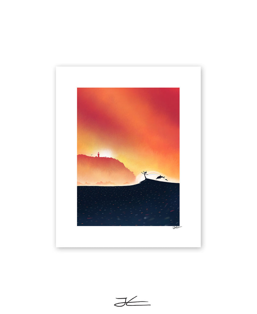 Short Drive North - Print/ Framed Print
