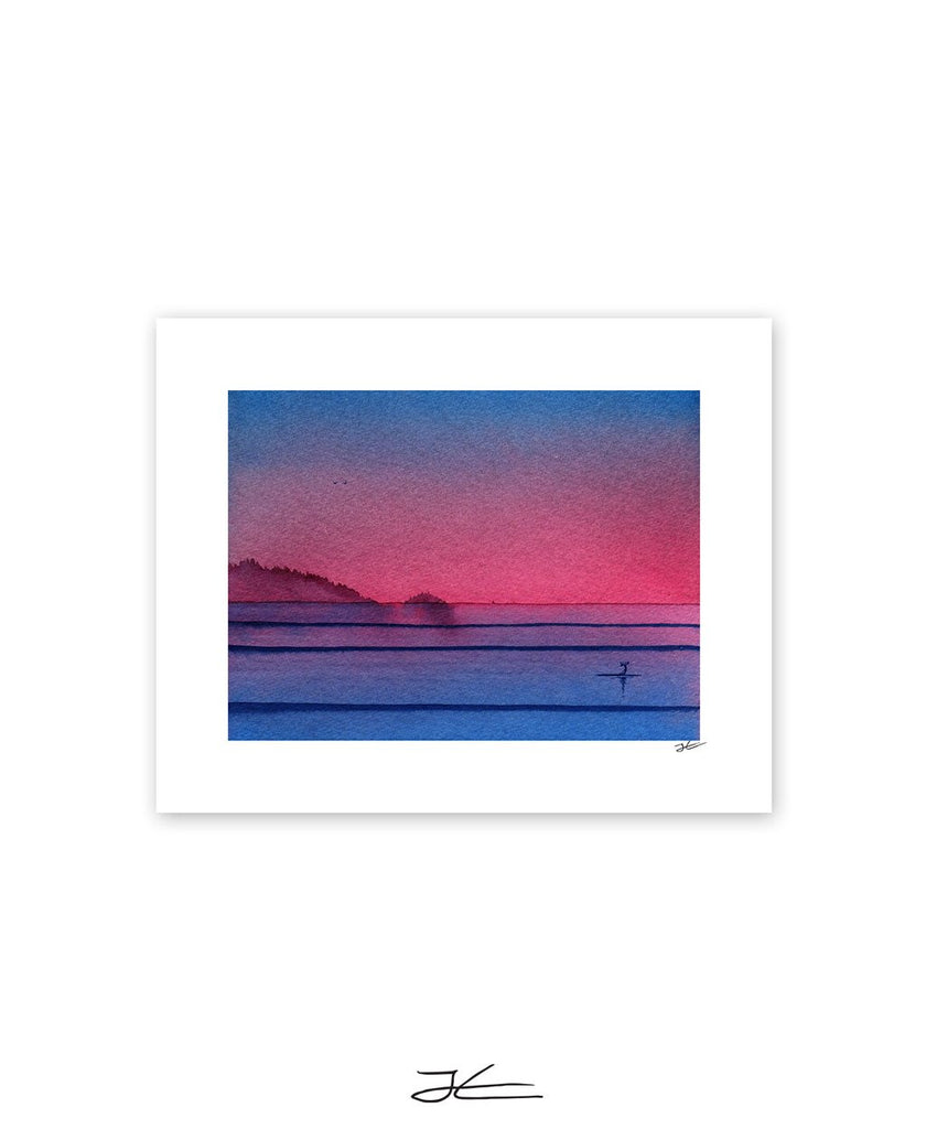 Small Evening Session - Print/ Framed Print
