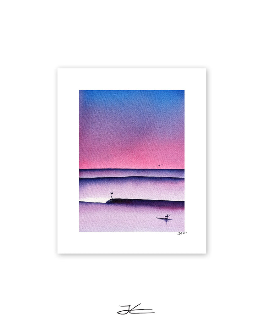 Sundown - Print/ Framed Print