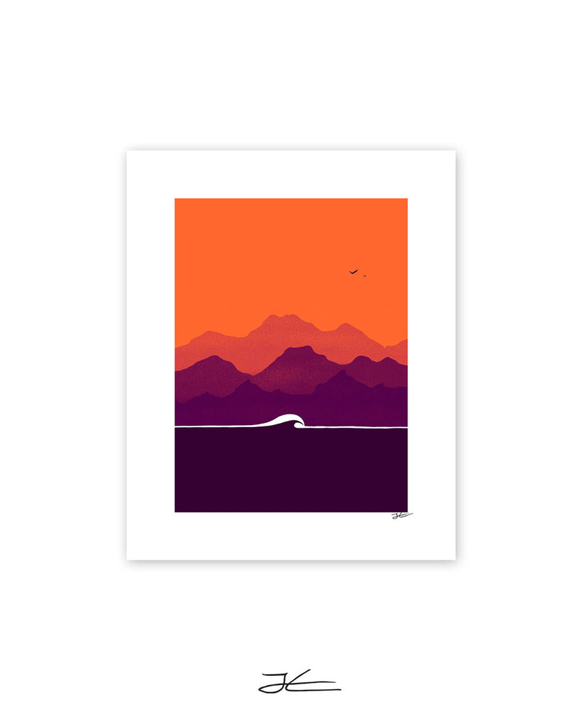 Sunset - Print/ Framed Print