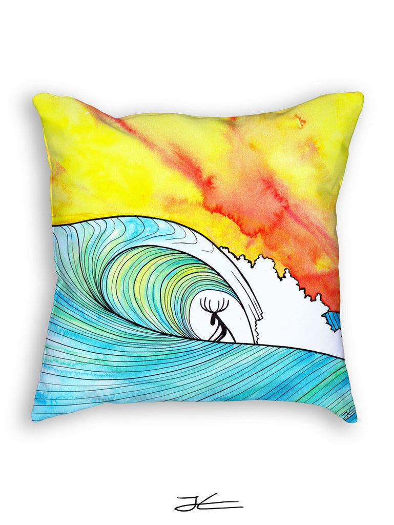 Sunset Slab Pillow
