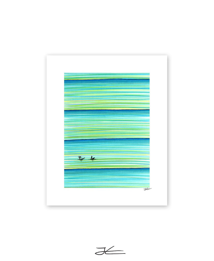 Surf Buddies - Print/ Framed Print