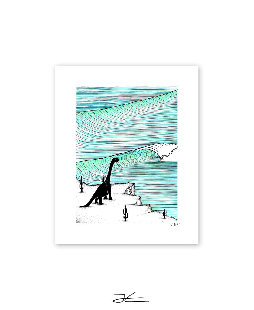 Surf Check - Print/ Framed Print