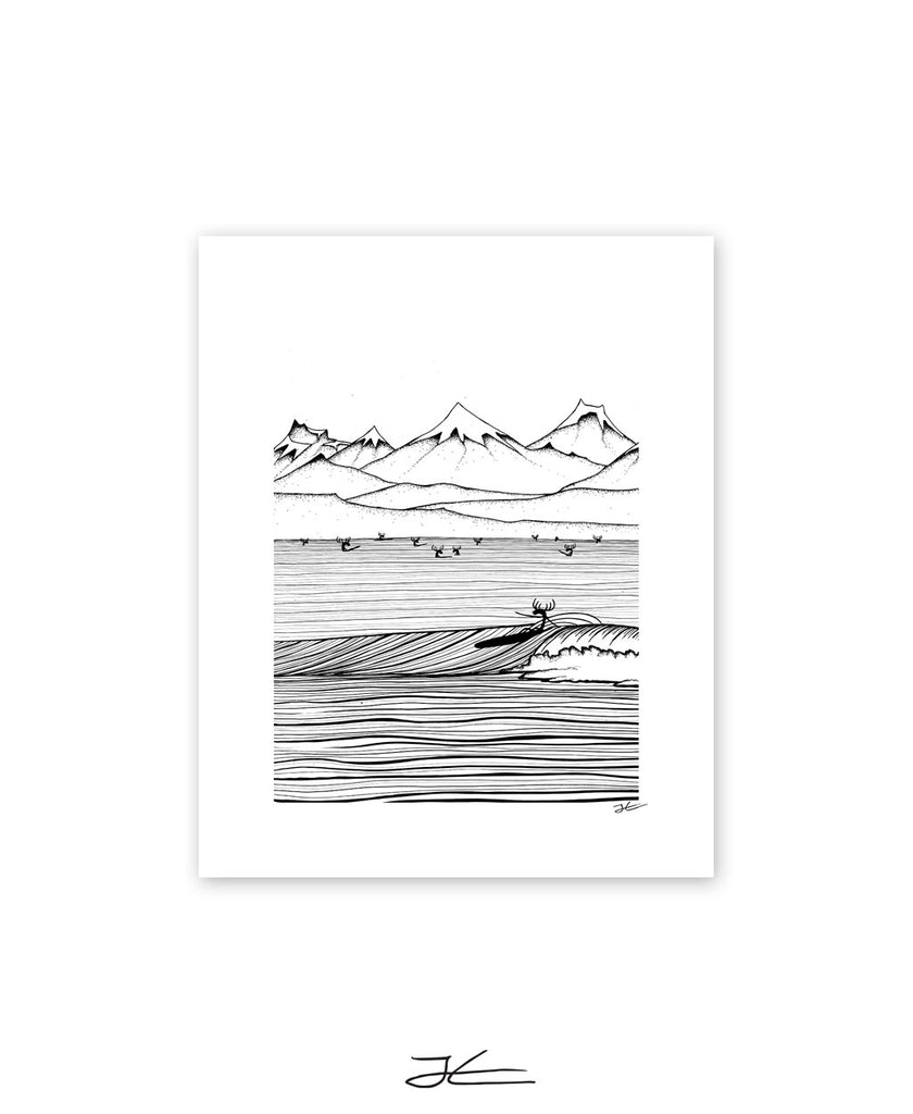 The North Shore - Print/ Framed Print