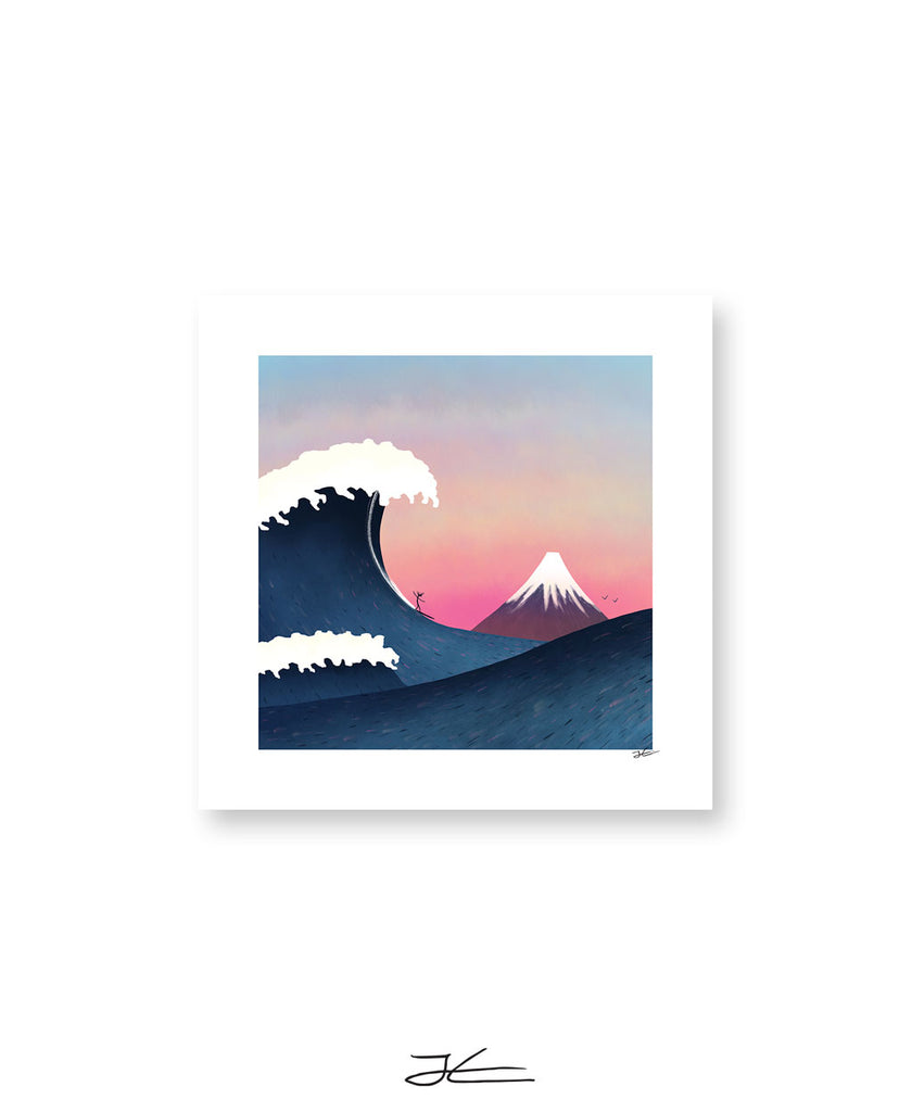 The Wave - Print/ Framed Print