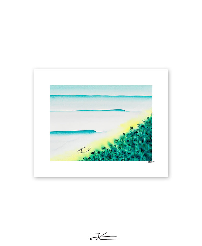 Two Surfers - Print/ Framed Print