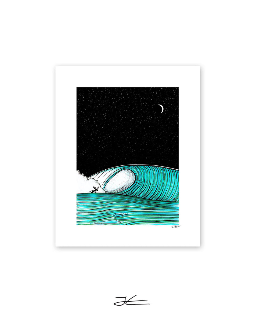 Under The Stars - Print/ Framed Print